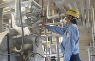 火力発電所石炭灰取扱業務