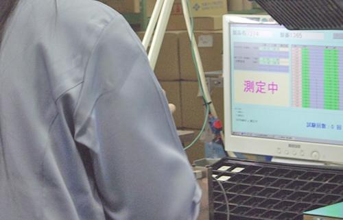 製品別検査装置