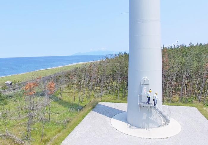 風の松原自然エネルギー株式会社②